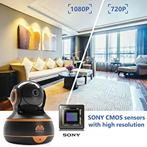 High quality video camera