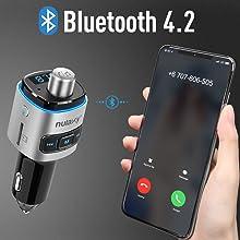 Bluetooth fm transmitter for car