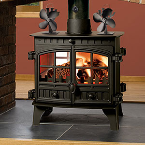 sonyabecca heat powered stove fan with. Black Bedroom Furniture Sets. Home Design Ideas