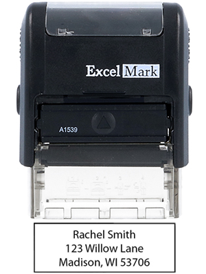 Stamp Only ExcelMark Paid Self Inking Rubber Stamp