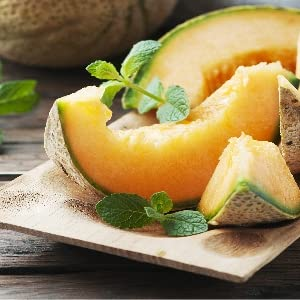 Melon is well known to be great for your skin!