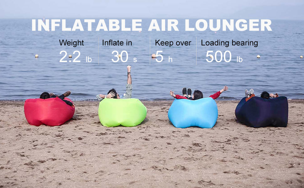 Amazon.com: Hikenture 3.0 - Tumbona inflable de aire ...