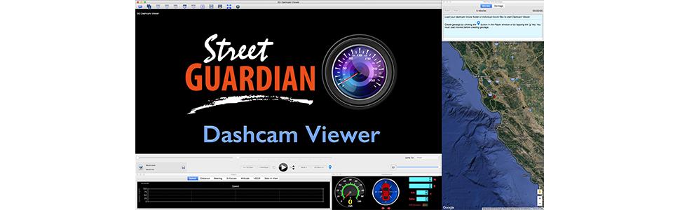 street guardian dashcam viewer