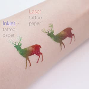 difference between inkjet and laser