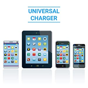 Works With Any USB Powered Mobile Device Whether It Is A Smartphone, Tablet,  E Reader, Or Gaming Controller. Our Universal Charging Station Works  Seamlessly ...