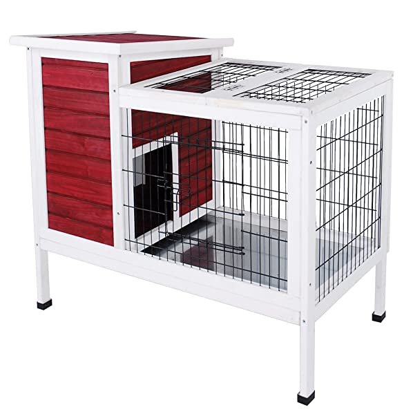 Amazon.com: Petsfit Rabbit/Guinea Pigs Cage: Pet Supplies