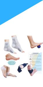 Plantar Fasciitis Foot/Ankle Compression Socks Sleeve 8 pack
