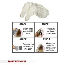 Fabric Heel Grip