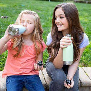 Bpa free water bottle water flask kids water bottle vacuum insulated water bottle leak proof bottle