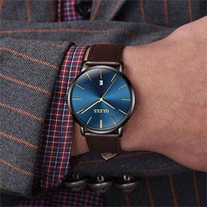 reloj delgado para hombres día fecha