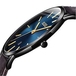 Ultra Thin Leather Wrist Watches Quartz Simple Olevs Men's Luxury And Fashion Minimalist Casual Mens Waterproof Band Watch lFT13uKcJ