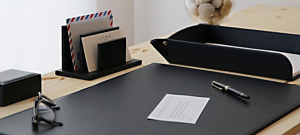 Amazon Com Lucrin Rigid Desk Pad Blotter 23 6 X 15 7
