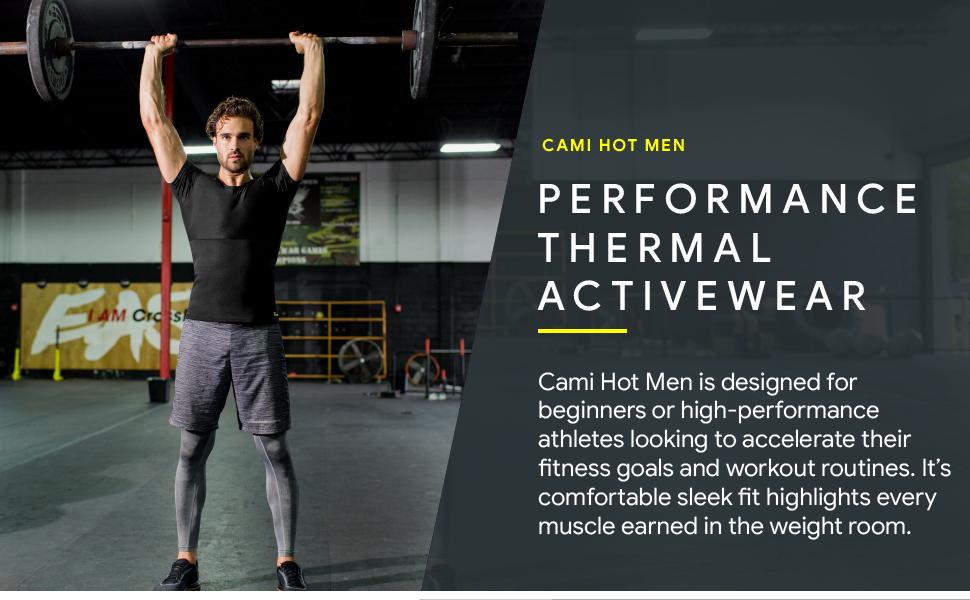 hot shapers mens cami hot sauna suit for men compression shirts for men sauna vest for men