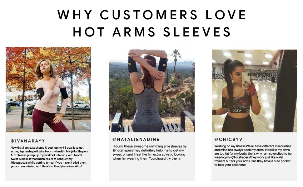 arm shapers for weight loss sweet sweat arm trimmer arm wraps arm sweat bands for women hot shapers