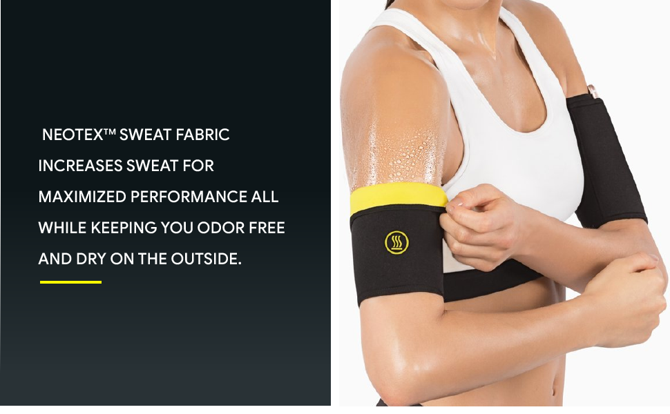 22d234ec22 Hot Shapers Arms Sleeves – Arm Trimmers for Weight Loss – Compression  Sleeves for Women – Workout Arm Slimmers to Lose Fat – Firm Toned Arms ...