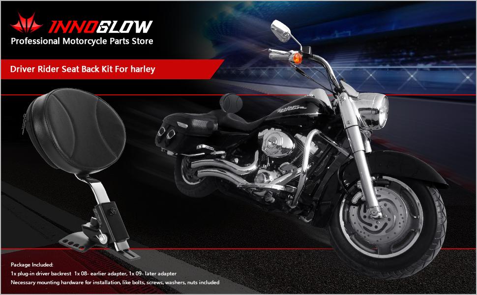 Motorcycle Backrest for Harley Davidson