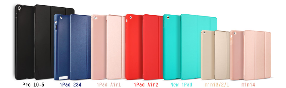 We have many model and different type of ipad case.