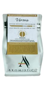 AROMISTICO s Italian Gourmet Rich Strong Dark Roast GROUND ...