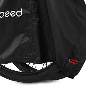 Maveek 2 Cycle Housse 210 T Nylon Heavy Duty All Weather Waterproof Bike Cover Wit