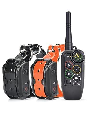 PetSpy M686B dog training collar with remote