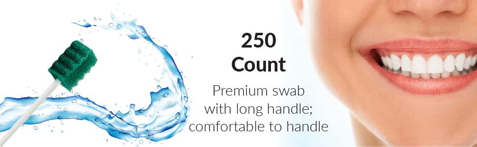 premium swab with long handle