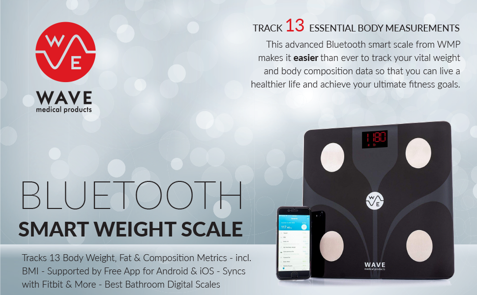 bluetooth smart weight scale