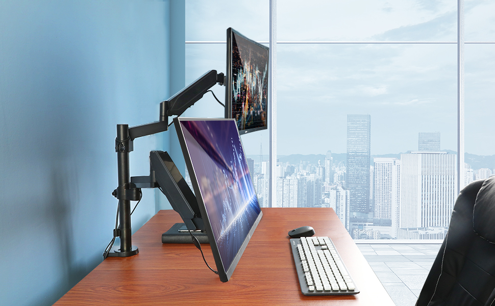 Long arm multi display stand ideal for large plates books clear pictures