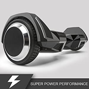 Amazon.com: Spadger Hoverboard con altavoz BLE y luz LED ...