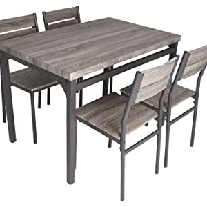 Compact Dining Table Set For 4