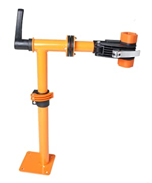 Amazon Com Conquer Bench Mount Bicycle Repair Stand Bike