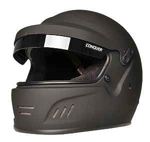 Conquer Full Face Rally Sa2015 Helmet