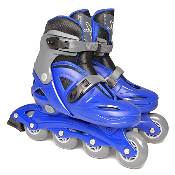 Rollerblades And Toys : Amazon vilano adjustable inline skates for boys