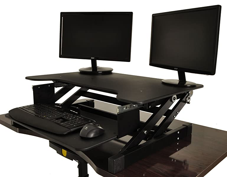 Amazon Stand Up Desk Attachment Stand While You Work