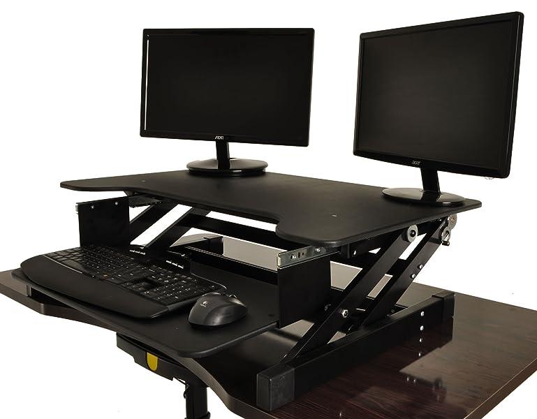Amazon Stand Up Desk Attachment Bolt Through And Desk