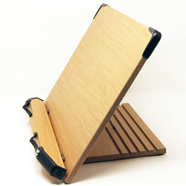 How To Make A Book Holder Out Of Cardboard : Amazon a book stand bs large holder w