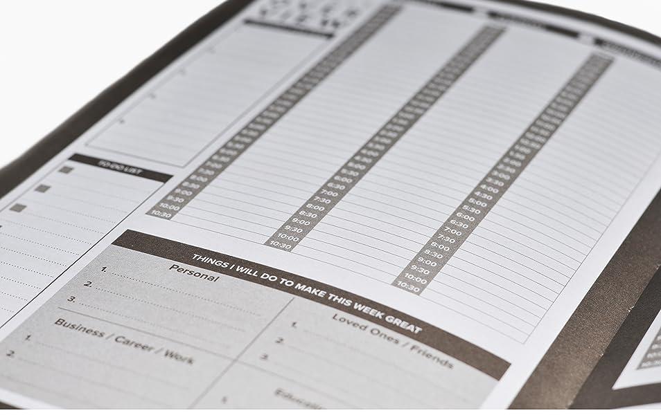 Amazon.com: El mejor calendario planificador diario y diario ...