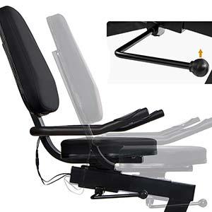 recumbent bike exercise bike adjustable indoor cycling trainer indoor cycle Magnetic Recumbent Bike