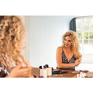 Amazon.com: Pintalabios para rizar pelucas/hierro, rizador ...