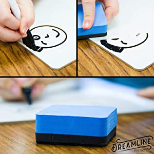Dry Erase Whiteboard Lapboard Personal Mini Whiteboard for students classroom dry erase pens markers