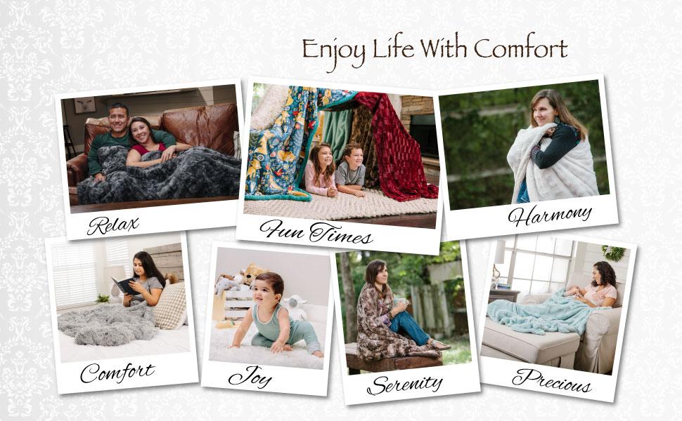 Throw Blanket Lifestyle
