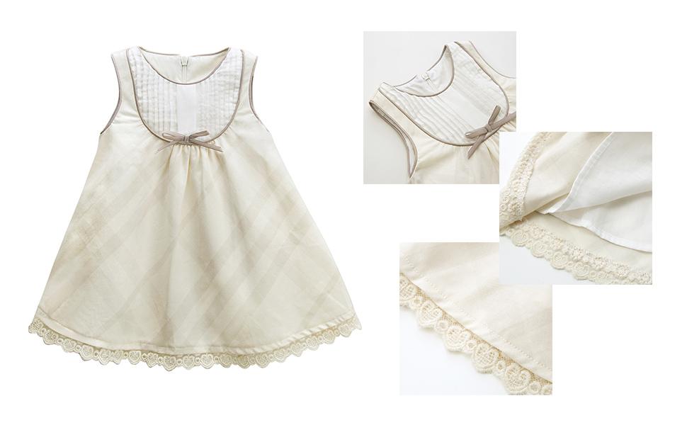 5f114033f53f Amazon.com  mubenshang Baby Girl Dresses Summer Toddler Dress Casual ...