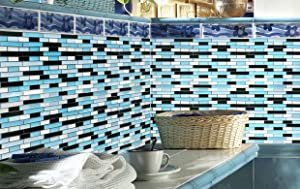 Crystiles Peel Stick Backsplash Tiles Are Specifically Designed For Bathroom And Kitchen Perfect Most Smooth Dry Clean Surfaces Like