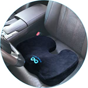 The Everlasting Comfort 100% Pure Memory Foam Luxury Seat Cushion Is Here.  Itu0027s Unique U Shape Is Recommended Most By Orthopedists And Doctors To  Improve ...