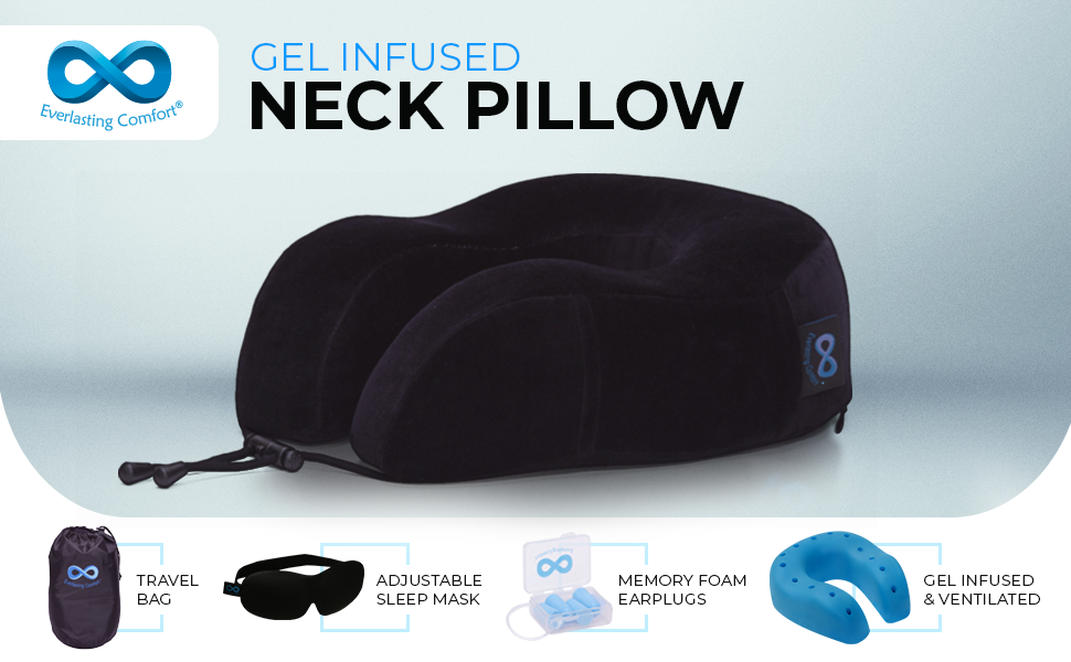 gel infused neck pillow