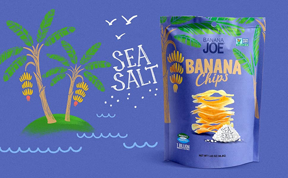banana chips fruit crisps vegan snacks probiotic snacks sea salt chips healthy gluten free snacks