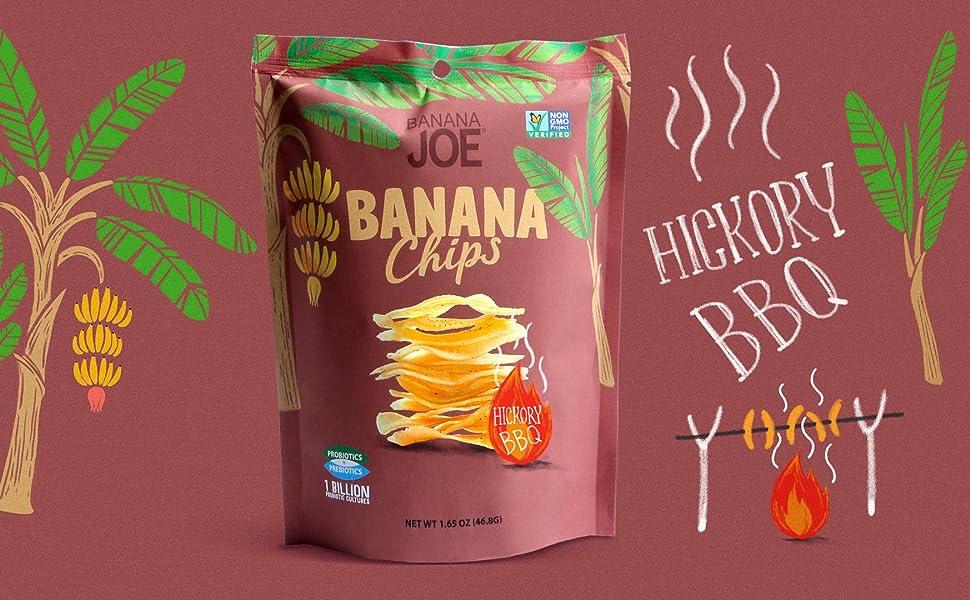 banana chips fruit crisps healthy vegan snacks gluten free snacks probiotics healthy kids snacks