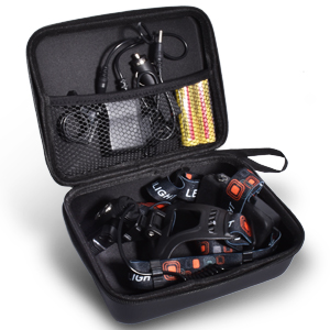 Upgrade portable zipper leather case