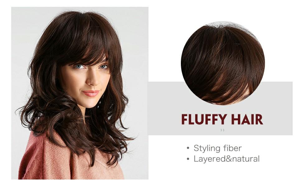 fluffy hair