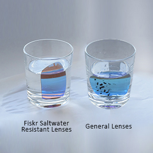 bffdcac9631 Amazon.com  Fiskr Anti-saltwater Replacement Lenses for Oakley Fast ...