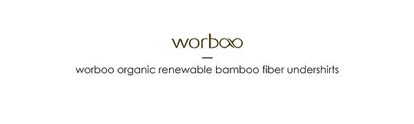 worboo bamboo fiber undershirts